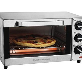 Countertop Toaster Oven Pizza Maker, Large 4-Slice Capacity