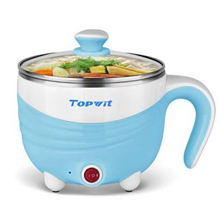 Electric Hot Pot 1.5L, Rapid Noodles Cooker, Mini Pot