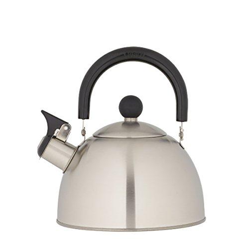 Kettering Brushed Stainless Steel Tea Kettle