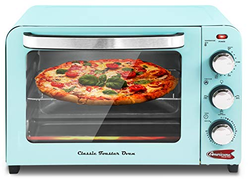 Pizza Vintage Diner 50's Retro Countertop Toaster oven Bake
