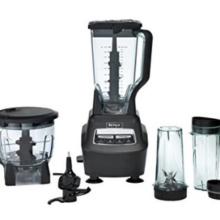 Blender/Food Processor with 1500W Auto-iQ Base