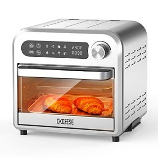 8-In-1 Compact Stainless Steel Digital Air Fryer Toaster Oven