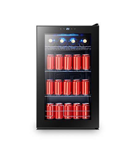 Beverage Center Fridge-Fits 101 Cans or 24 Bottles