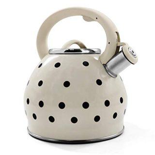 3.5 Liter Tea Kettle Stainless Steel Whistling - Modern Stainless