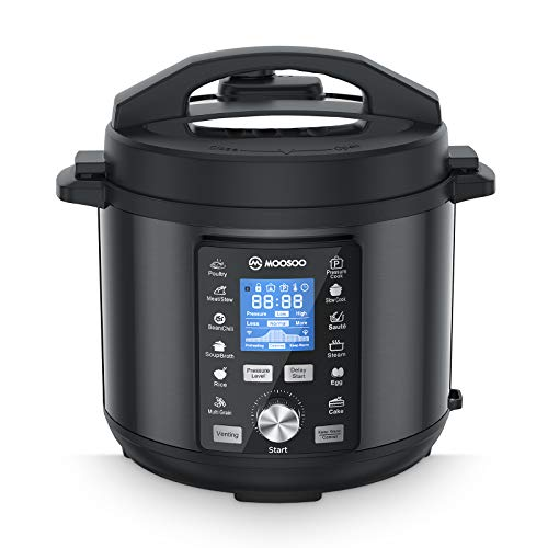 Electric Pressure Cooker 13-in-1 and Recipes