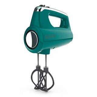 Black+Decker MX600T Helix Performance Premium Hand, 5-Speed Mixer, Teal