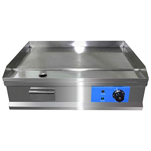 Commercial Electric Countertop Griddle Flat Top Grill Hot Plate BBQ