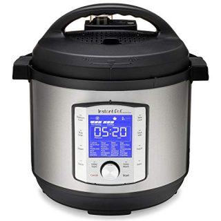 Instant Pot Duo Evo Plus Pressure Cooker 9 in 1, 8 Qt, Easy Grip Handles