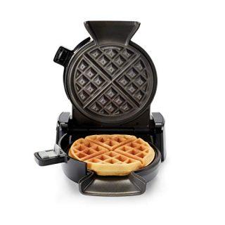 Oster 2110002 DiamondForce Vertical Waffle Maker, One Size, Dark Metallic