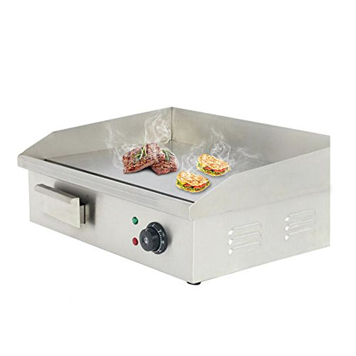 Electric Countertop Griddle Grill 110V 3000W