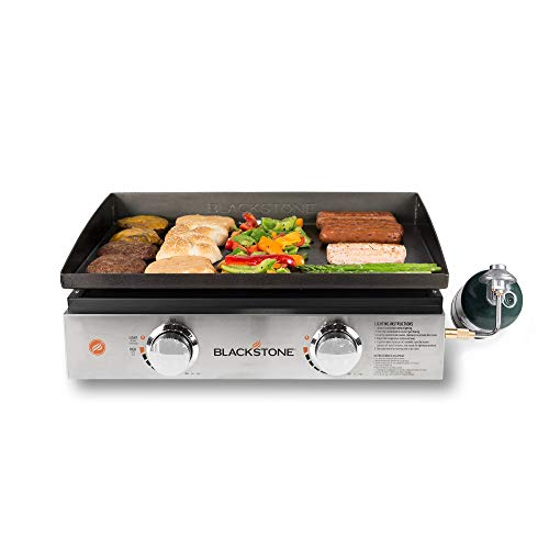 Tabletop Griddle with Stainless Steel Front Plate