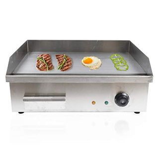 22Inch Electric Countertop Griddle - 3000W