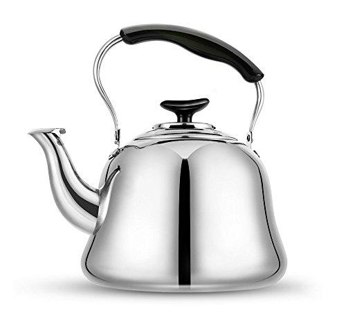 Kettle Stovetop Teapot 2 Liter Stainless Steel Hot Water Kettle