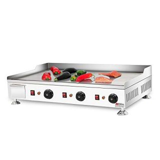 Teppanyaki Grill with Three Thermostats