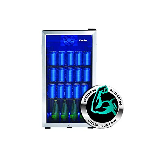 Freestanding Beverage Refrigerator Perfect for Pop, Water
