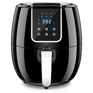 6-in-1 7 Quart Air Fryer, 1800-Watt Hot Airfryer Oven with LCD Digital Screen and Temperature Control, ETL Certified