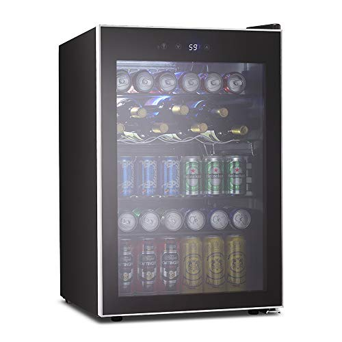 126 Can Mini Fridge Beverage Refrigerator and Cooler