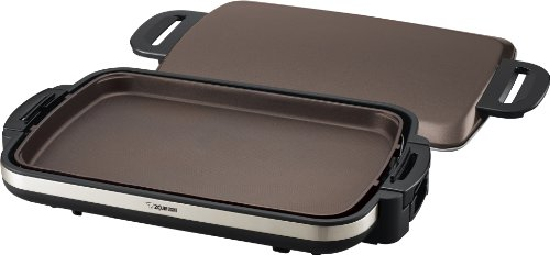 Gourmet Sizzler Electric Griddle, Stainless Brown