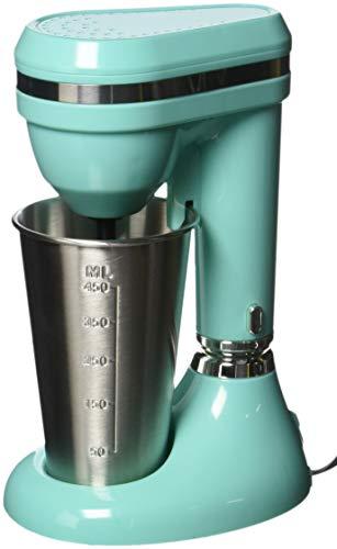 Brentwood Classic Milkshake Maker, 15 oz, Turquoise