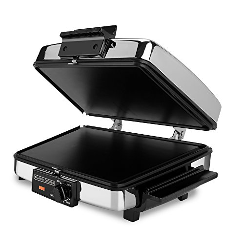 Waffle Maker with Nonstick Reversible Plates