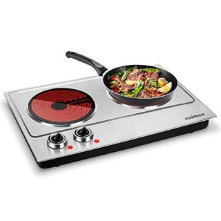 Electric Double Burner Ceramic Glass Heating Plate Electric Stove