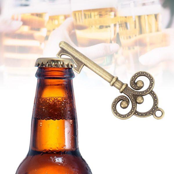 50 Pcs/Lot Key Bottle Opener Skeleton Wine Opener