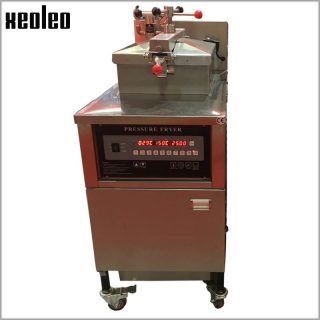 XEOLEO Chicken Pressure fryer Commercial gas deep fryer