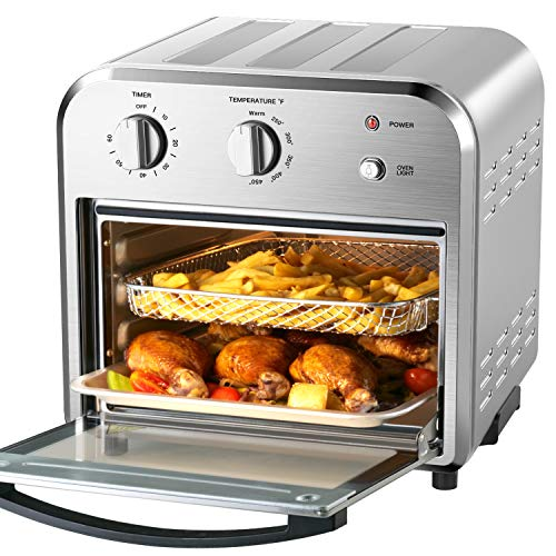 4 Slice Toaster Airfryer Countertop Oven