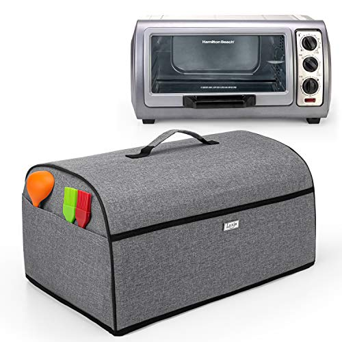 Toaster Oven Cover Compatible with Hamilton Beach 6-Slice Toaster