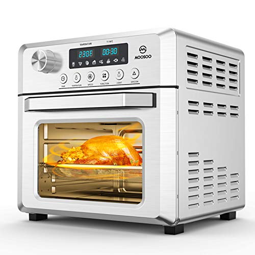 1500W Large Glass Window Air Fryer Toaster Oven