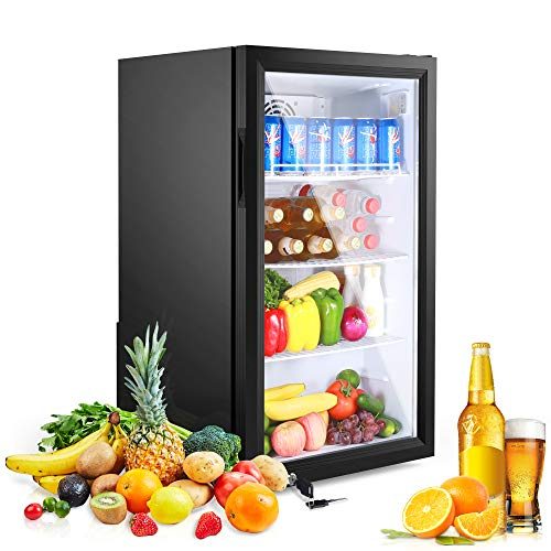 126 Cans Beverage Refrigerator and Cooler