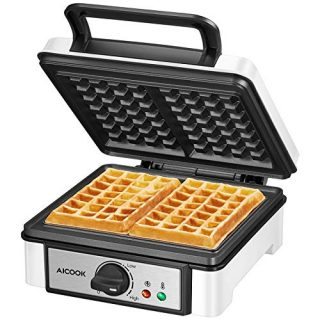 Belgian Waffle Maker Machine Non-Stick
