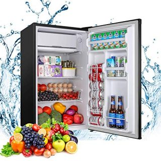Mini Fridge with Freezer Compact Refrigerator