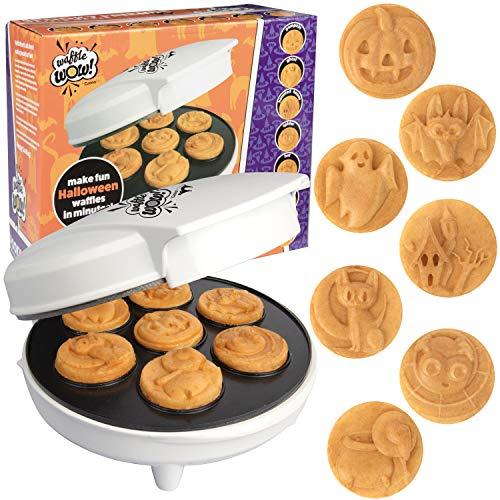 Halloween Mini Waffle Maker - 7 Different Spooky Designs