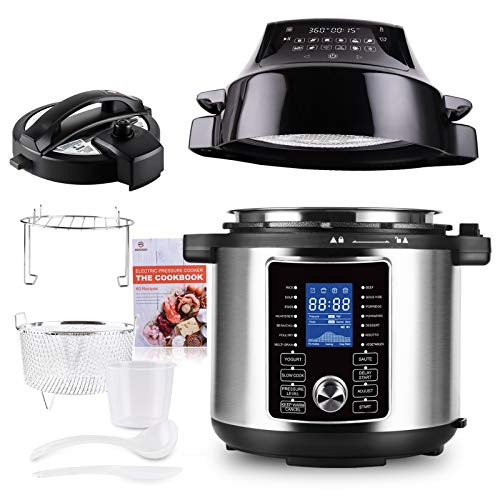 Pressure Cooker Air Fryer All-in-One Electric Pressure Cooker