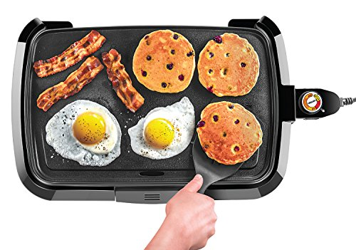 Chefman Electric Griddle Removable Slide-out Drip Tray