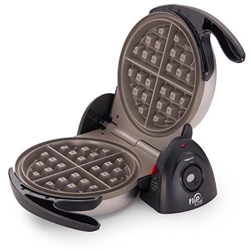 Presto Ceramic FlipSide Belgian Waffle Maker,Black
