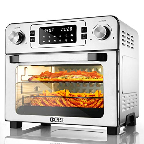 10-in-1 Toaster Oven Timer Air Fryer Combo