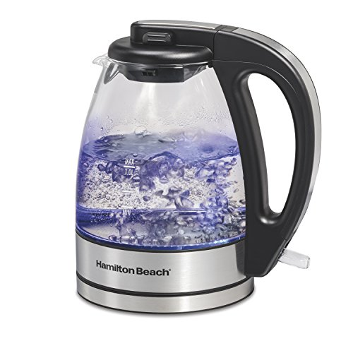 Beach Glass Electric Tea Kettle, Water Boiler Heater
