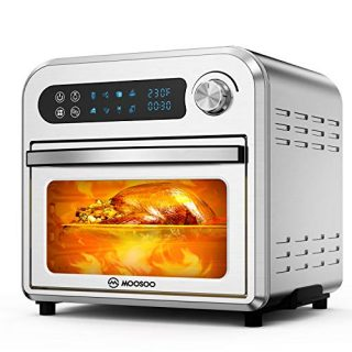 10.6 QT Electric Air Fryer Toaster Oven with LED Digital Touchscreen