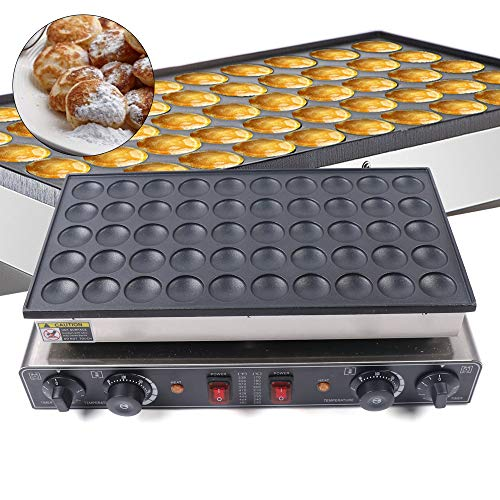 Commercial Waffle Maker Nonstick Electric Mini Round