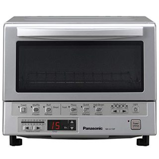 Compact Toaster Oven with Double Infrared Heating