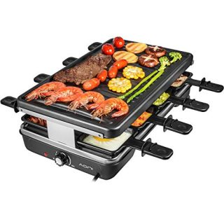 Electric Raclette Grill Smokeless Party Grill Electric BBQ