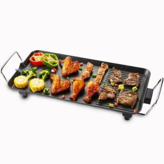 Electric BBQ Grill Large Power Baking Pan