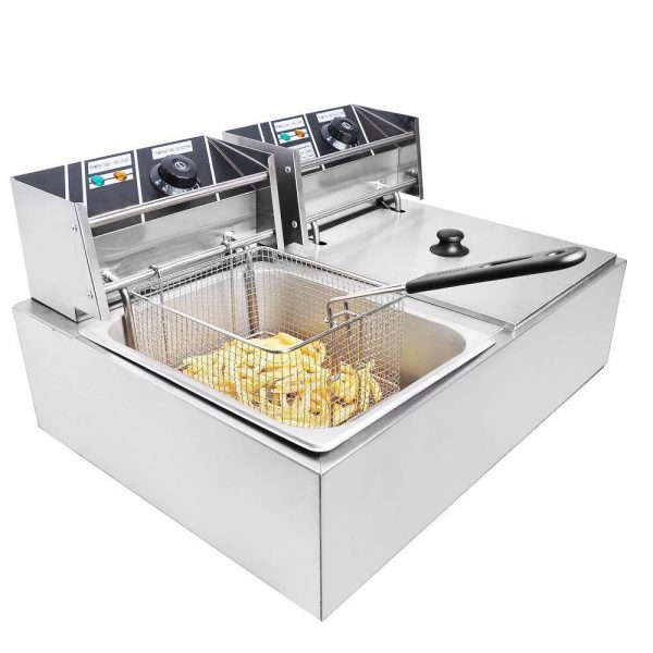 Commercial Stainless Steel Deep Fryer Machine