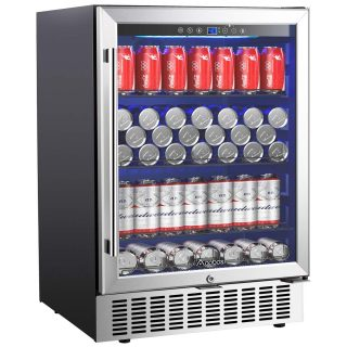 164 Cans Freestanding and Built-in Beverage Refrigerator
