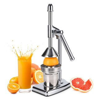 Professional Citrus Juicer - Manual Citrus Press and Orange Squeezer,Metal Lemon Squeezer,Heavy Duty Manual Hand Press Citrus Juicer Squeezer Machine