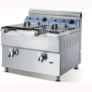 Commercial stainless gas oil chicken food steel