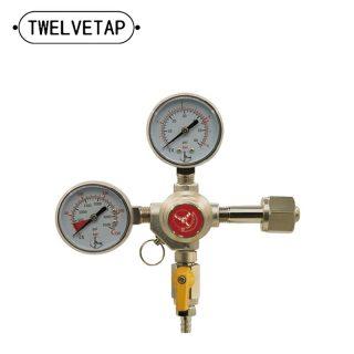 Pressure Reducer homebrew Co2 Regulator Dual Gaug