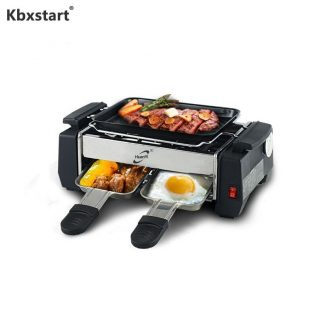 1000W Non-stick Barbecue Electric Raclette Grill